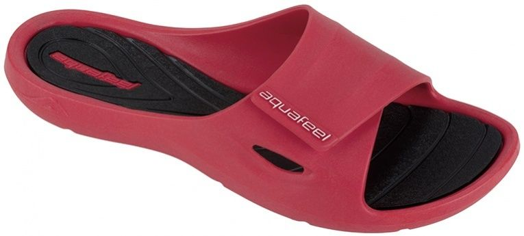 Aquafeel profi pool shoes women red/black