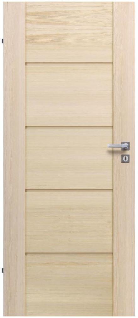 Skrzydło drzwiowe pełne Triest Modern 70 Lewe Radex