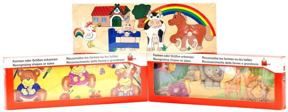 Bino 24013 - Mertens zestaw urodzinowy Puzzle