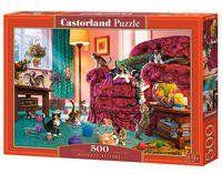 Puzzle 500 Naughty Kittens - Castorland