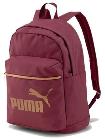 Plecak Puma WMN Core Base College Bag 077374 bordowa