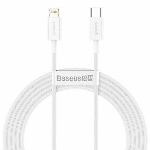 Kabel Baseus Superior USB-C do Lightning 20W 2m, biały