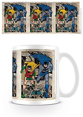 Pyramid International Batman Montage ceramiczny kubek, ceramiczny, wielokolorowy, 8,5 x 12 x 10,5 cm
