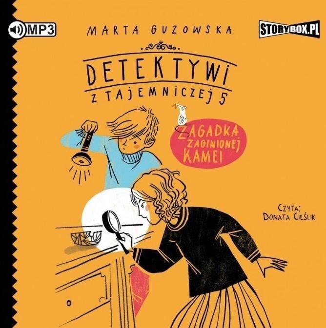 Detektywi z Tajemniczej 5 T.1 audiobook ZAKŁADKA DO KSIĄŻEK GRATIS DO KAŻDEGO ZAMÓWIENIA