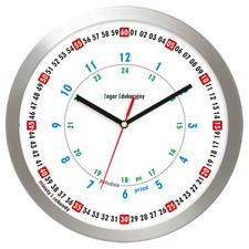 Zegar edukacyjny z aluminium