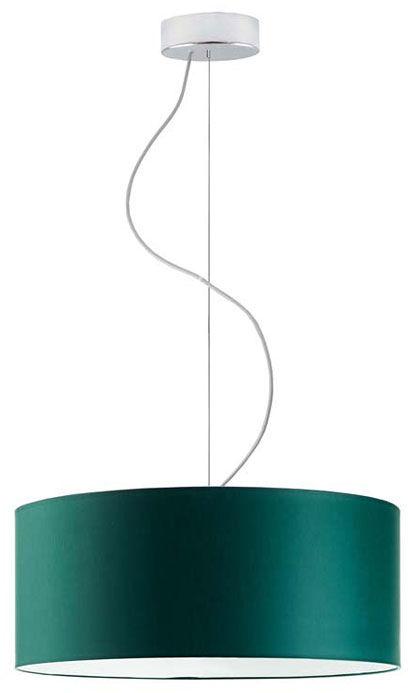 Okrągły żyrandol z abażurem 40 cm - EX842-Hajfi - wybór kolorów