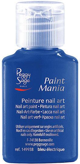 PEGGY SAGE - Lakier nail art Paint mania bleu électrique 25ml - ( ref. 149938)
