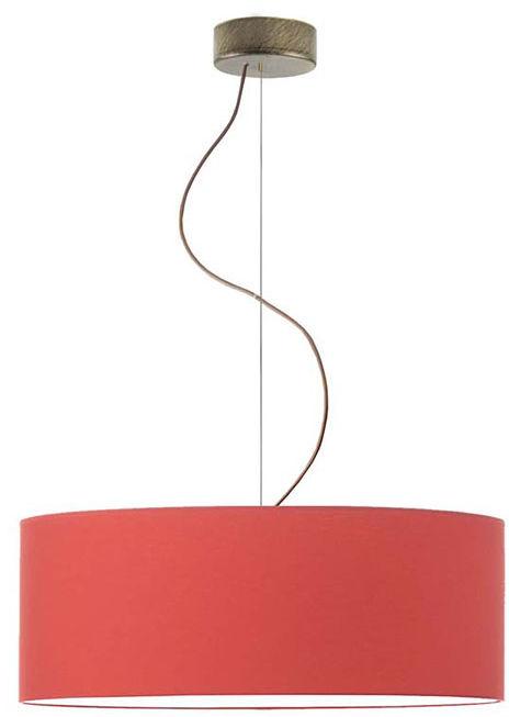Okrągły żyrandol z regulacją długości 50 cm - EX843-Hajfi - wybór kolorów