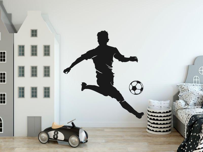 Piłkarz 4 naklejka naklejka na ścianę