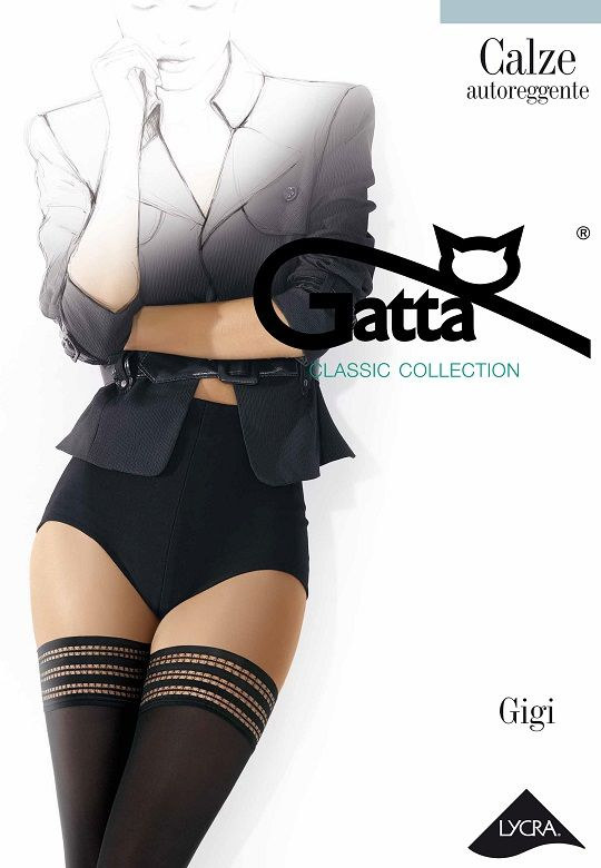 POŃCZOCHY GATTA GIGI 60 WZ 01
