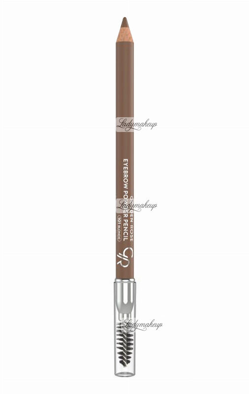 Golden Rose - EYEBROW POWDER PENCIL - Puder do brwi w kredce - 101
