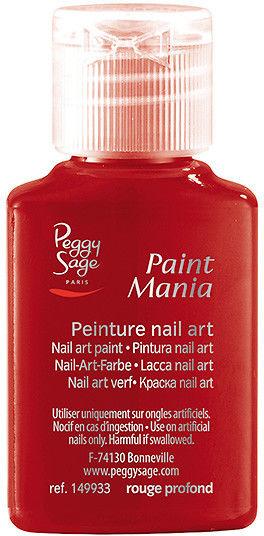 PEGGY SAGE - Lakier nail art Paint mania rouge profond 25ml - ( ref. 149933)