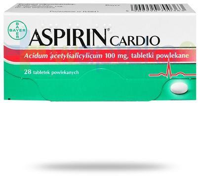 Aspirin Cardio 100mg 28 tabletek powlekanych [Protect 100]
