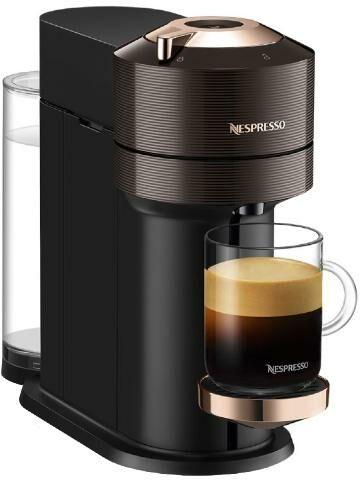 DeLonghi Nespresso Vertuo Next ENV120.BW Premium (brązowy) - Kup na Raty - RRSO 0%