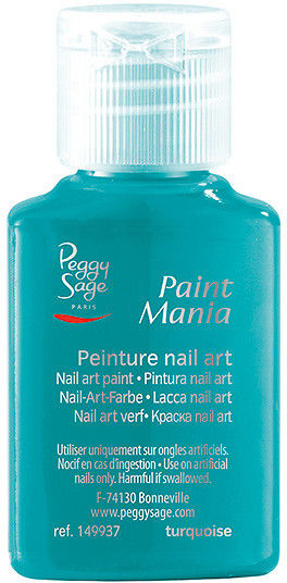 PEGGY SAGE - Lakier nail art Paint mania turquoise 25ml - ( ref. 149937)
