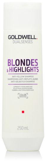 Goldwell Dualsenses Blondes & Highlights Anti-Brassiness Szampon do włosów blond i z pasemkami 250 ml