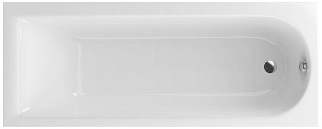 Excellent Aurum Slim wanna prostokątna 160x70 biała WAEX.AUR16WHS