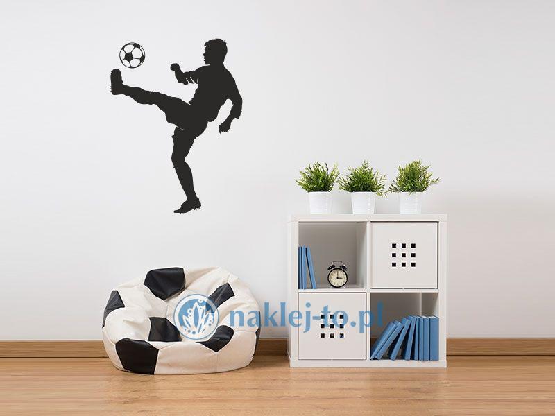naklejka Piłkarz 5 naklejka na ścianę