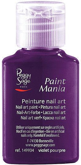 PEGGY SAGE - Lakier nail art Paint mania violet pourpre 25ml - ( ref. 149934)
