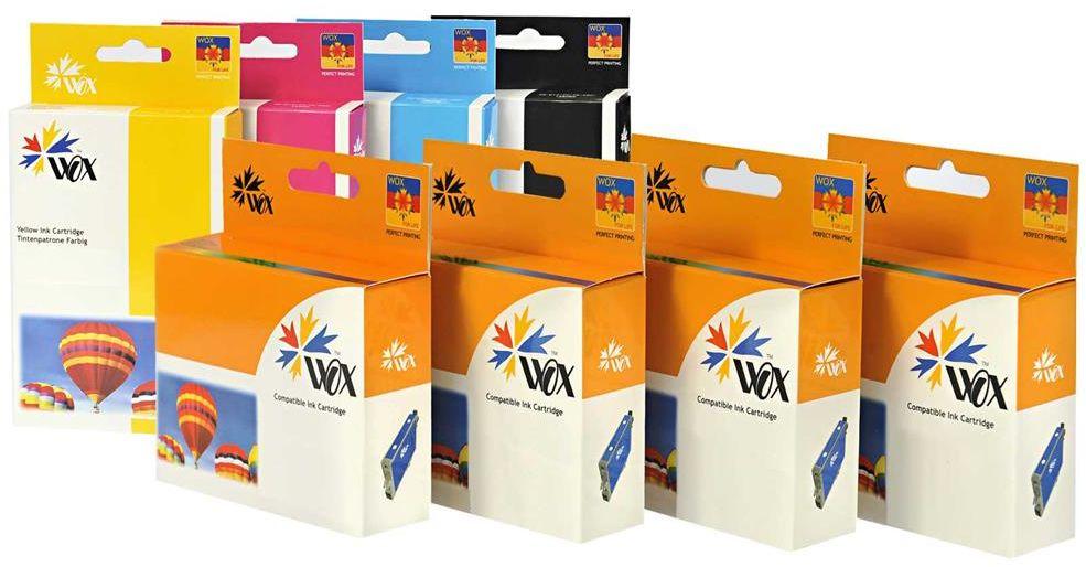 Tusz Wox Yellow Dell 31/32/33 zamiennik 331-7380 / GRW63