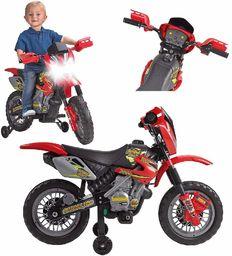 FEBER Famosa 800011250 Cross 400F  rower do zabawy na baterie, dla dzieci w wieku od 3 do 5 lat, 6 V, czerwony