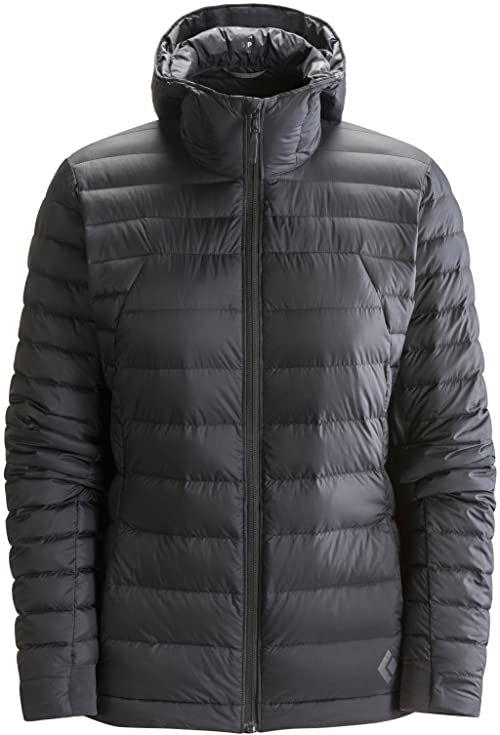 Black Diamond W Cold Forge bluza z kapturem XS czarna