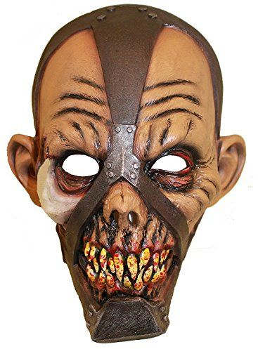 Zoelibat 97308041.004  Scully Monster, maska lateksowa pełna maska zniszczona twarz