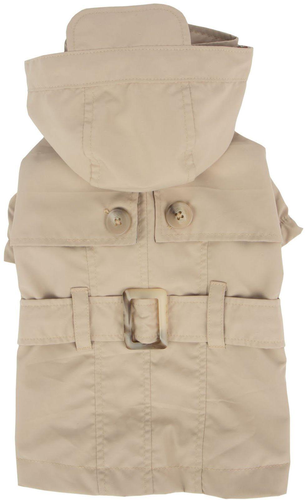 Pinkaholic New York NARA-RM7321-BE-XL beżowy Claris płaszcz przeciwdeszczowy dla zwierząt domowych, X-Large