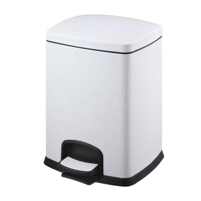 Stella 20.20305-W Kosz na śmieci 5L prostokątny Premium biały