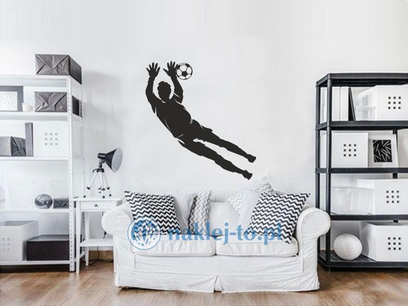 naklejka na ścianę Piłkarz 6 naklejka na ścianę