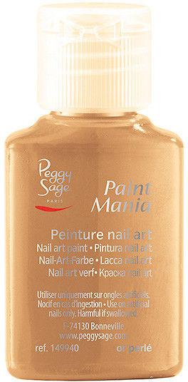 PEGGY SAGE - Lakier nail art Paint mania or perlé 25ml - ( ref. 149940)