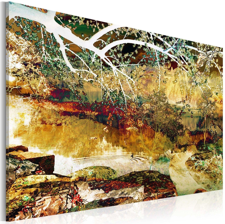 Obraz - park: abstrakcja