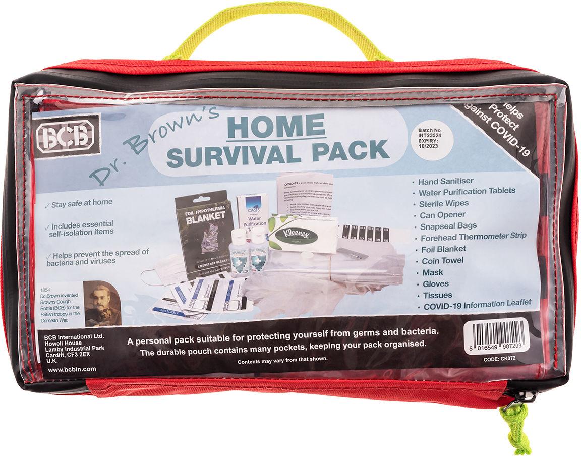 Zestaw przetrwania BCB Home Survival Pack (CK072)