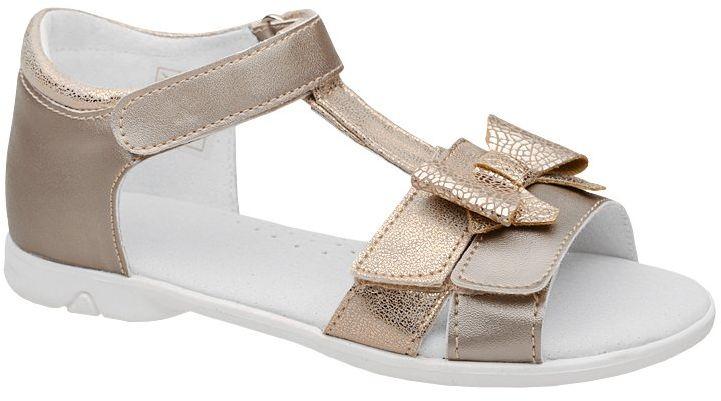 Sandałki dla dziewczynki KORNECKI 6332 Złote