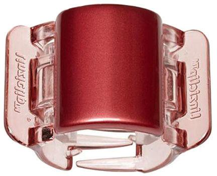 Linziclip Klamra do włosów Midi Red-Pearl-Clear 1 szt.