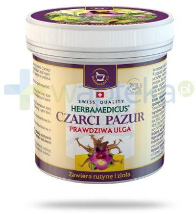 Herbamedicus Czarci pazur balsam ziołowy 250 ml