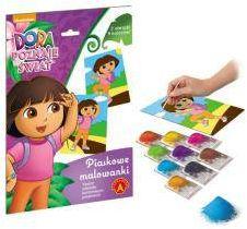 Dora poznaje świat -piaskowe malowanki