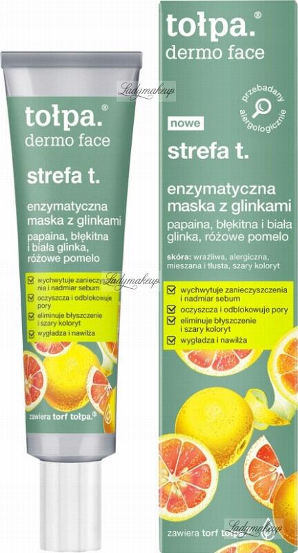 Tołpa - Dermo Face - Enzymatyczna maska z glinkami do strefy T - 40 ml