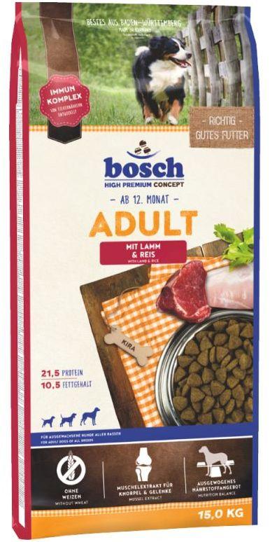 Bosch ADULT LAMB & RICE - 30KG (15KGx2)