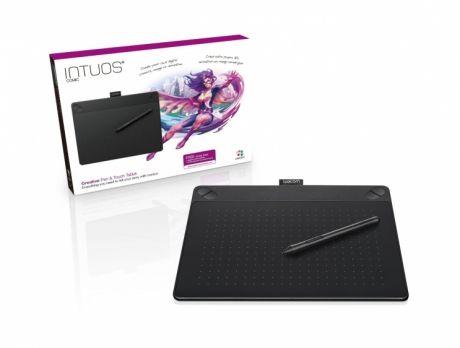 Tablet graficzny Wacom Intuos Comic M (A5) CTH-690CK czarny + oprogr. + kurs obsługi PL