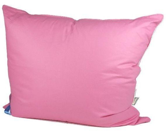 Poduszka z pierza 70x80 cm 1kg różowa
