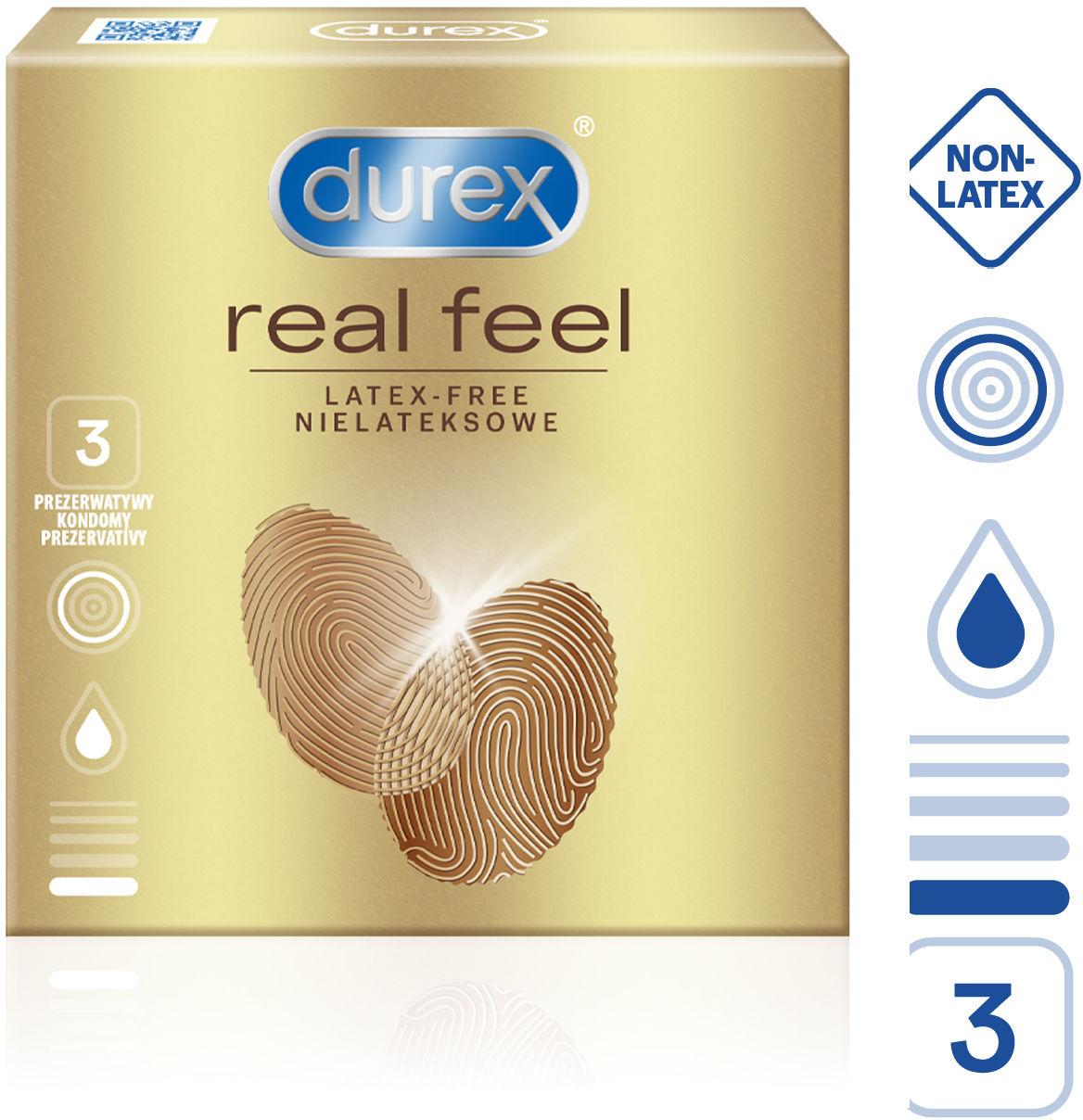 Durex Real Feel 3 pack