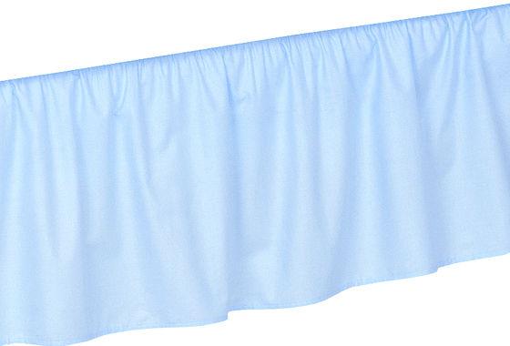 MAMO-TATO Falbanka do łóżeczka 70x140 - Błękit