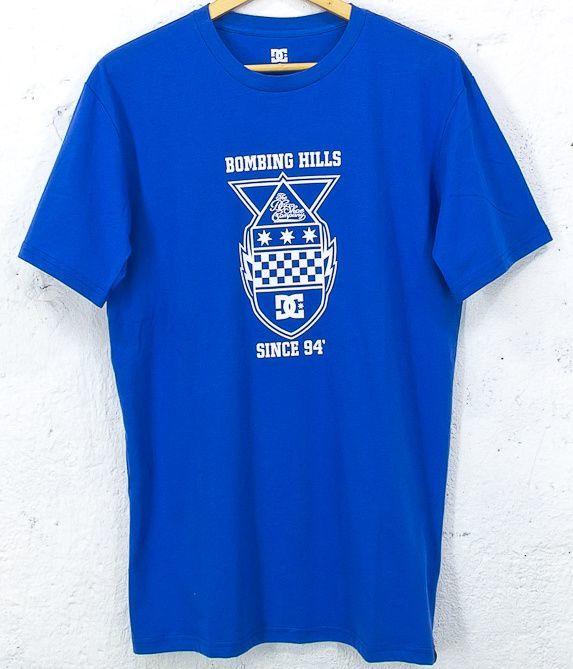 t-shirt męski DC DROPPING BOMBS M JE OLY