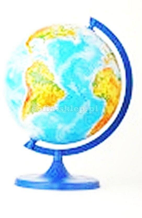 Globus fizyczny 22 cm ZACHEM 0218