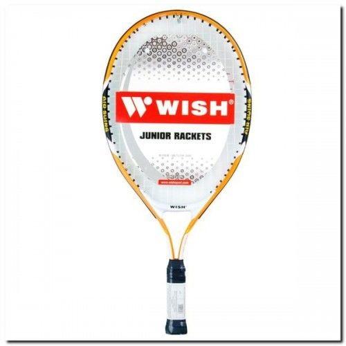 Rakieta do tenisa ziemnego Wish Alumtec 2600 L0 pomarańczowo-czarna