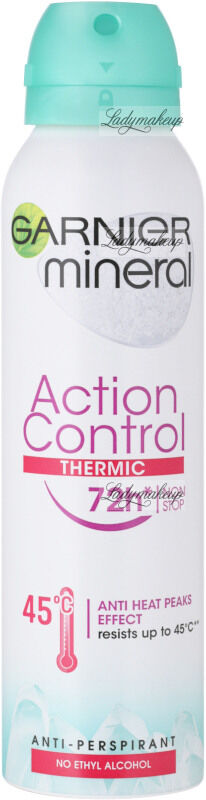 GARNIER - Mineral - Action Control Thermic 72h Anti-Perspirant - Antyperspirant w spray''u z termo ochronę - 150 ml