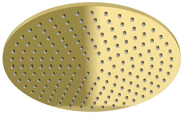 Kohlman Experience Gold deszczownica okrągła 25x25cm złoty połysk R25EGD