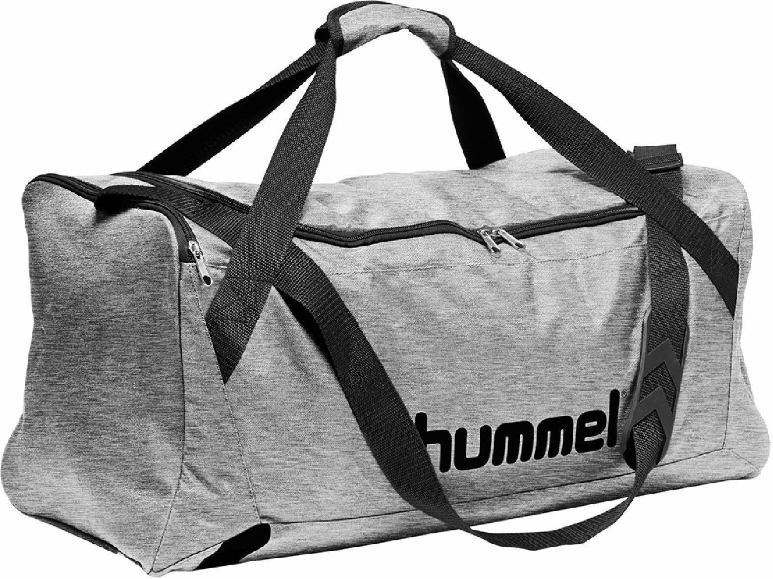 Hummel CORE SPORTS BAG - torba sportowa, szary melanż, S