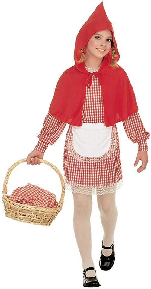 Widmann 11001107 kostium dziecięcy Czerwony Kapturek, 158